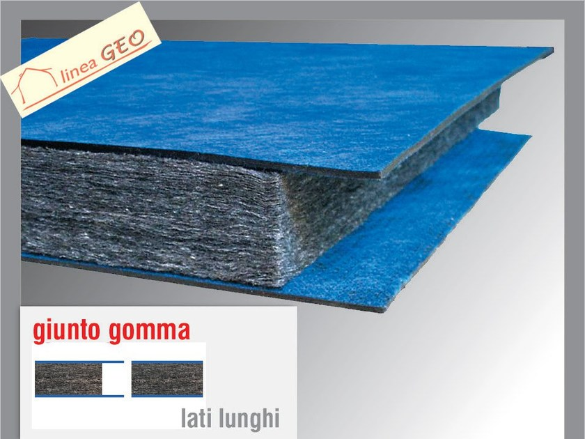 Sound insulation panel POLIGRAFITE GUM 4+4 by Thermak by MATCO