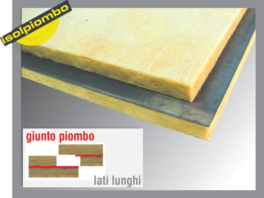 Sound insulation and sound absorbing felt with lead-laminate PHONOVER by Thermak by MATCO
