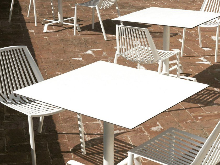 Square laminate Table Top TOLUP by FAST
