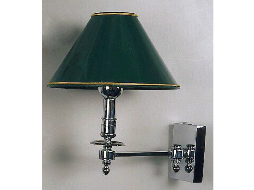 Bronze wall light with swing arm 52605 | Wall light by Tisserant