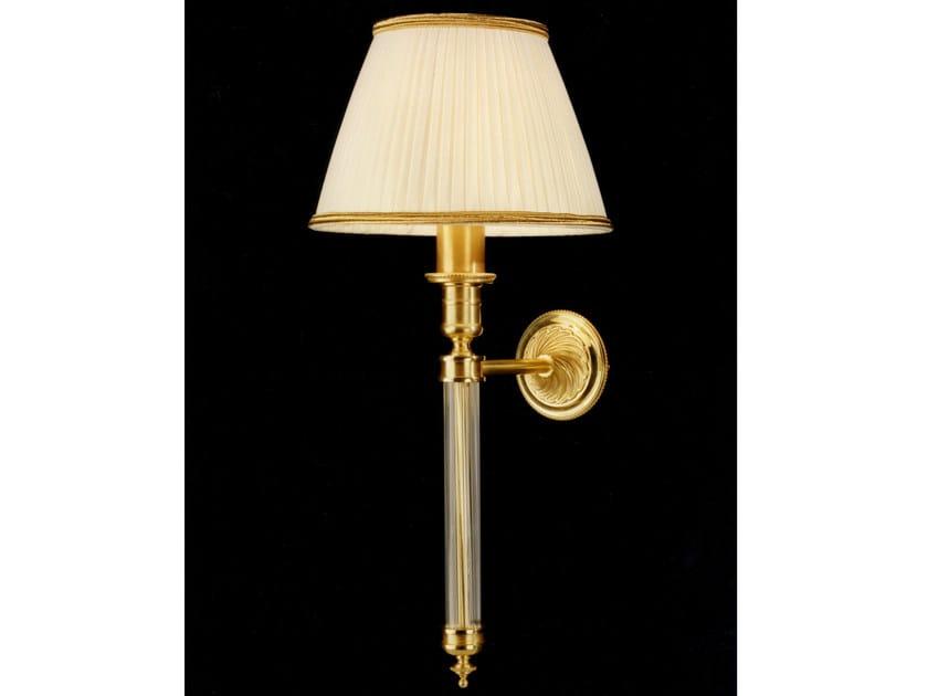 Bronze wall light 24599 | Wall light by Tisserant