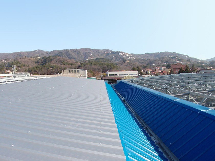 Insulated metal panel for roof TREGRECHE by ISOTECNICA