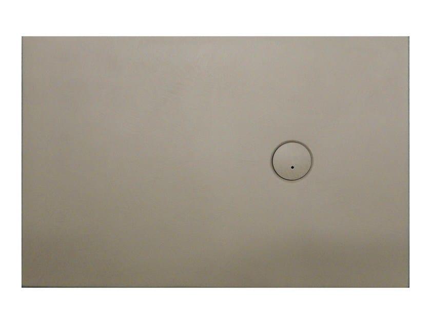 Rectangular ecomalta shower tray PAPIRO by Glass1989