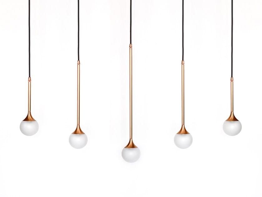Direct light copper pendant lamp SS-5 | Pendant lamp by Intueri Light