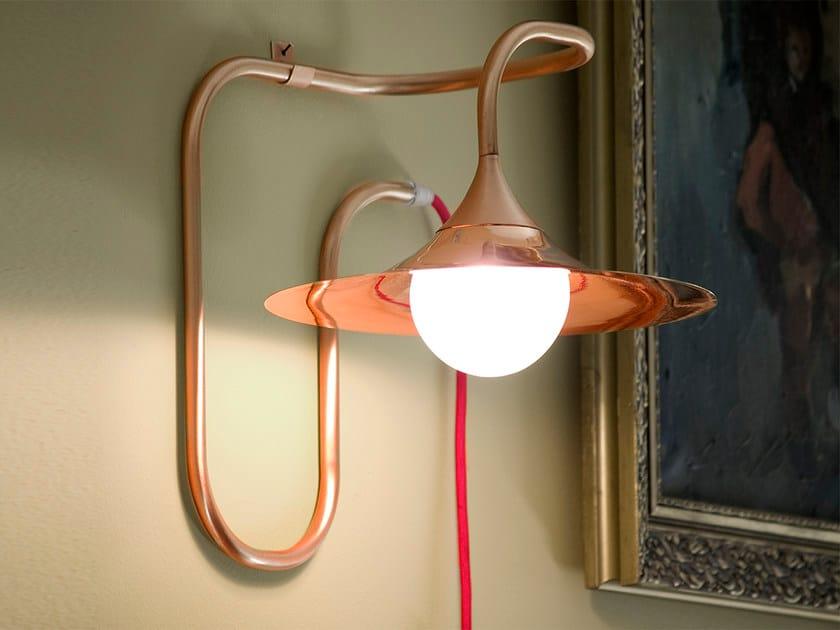Turbaya applique en cuivre by intueri light