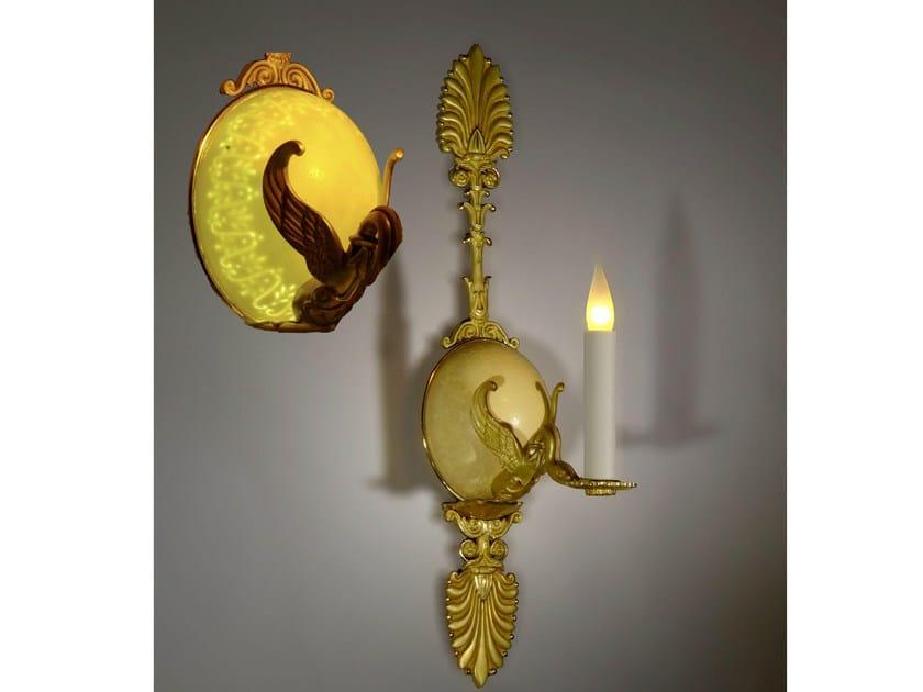 Bronze wall light 29400 | Wall light by Tisserant