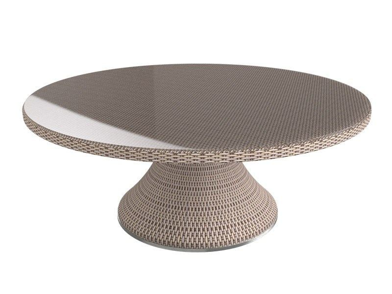 Round garden table PROVENCE   Round table by Sérénité Luxury Monaco