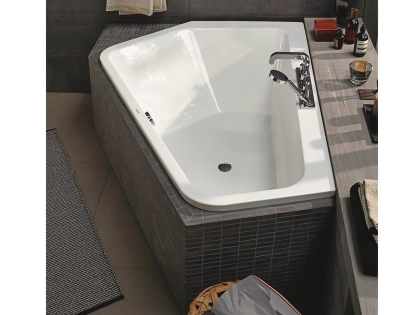 Vasche Da Bagno Angolari Asimmetriche : Paiova 5 vasca da bagno da incasso by duravit design eoos