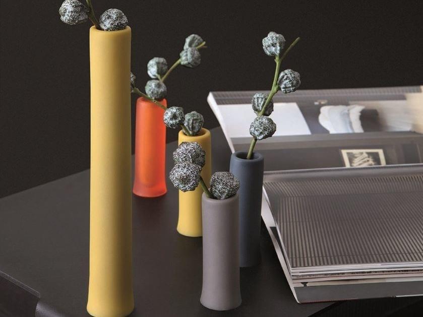 Polyurethane gel vase ASSOLO by Geelli by C.S.