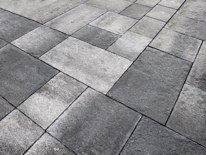 Outdoor wall floor tiles with stone effect emotion 20mm by - Hormigon impreso barato ...