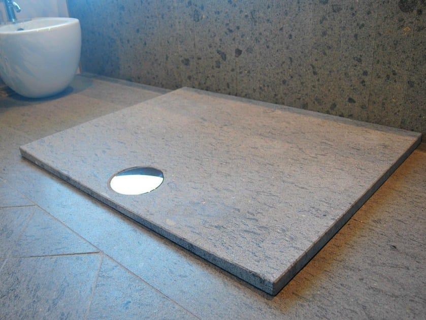 Vasca Da Bagno Zaffiro : Piatto doccia rettangolare in pietra naturale zaffiro by rama