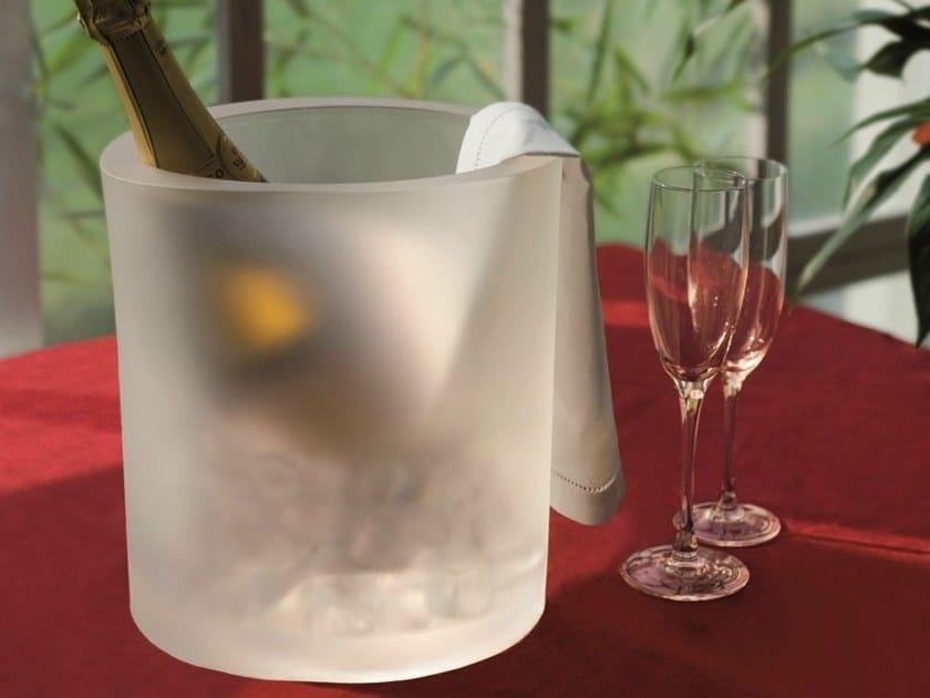 Polyurethane gel ice bucket WINE OT by Geelli by C.S.