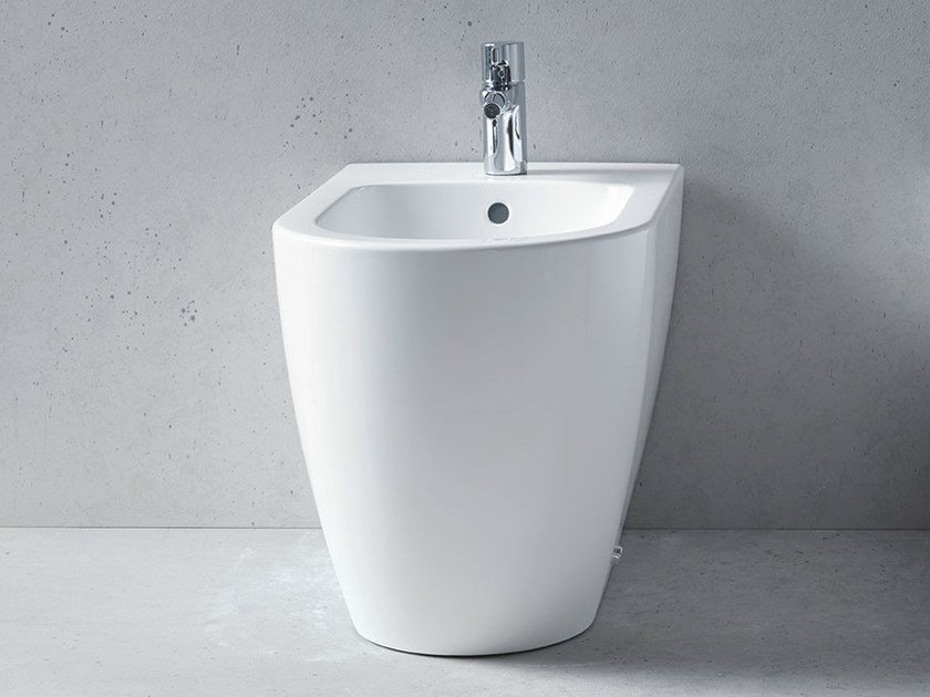 Ceramic bidet with overflow ME | Bidet by Duravit