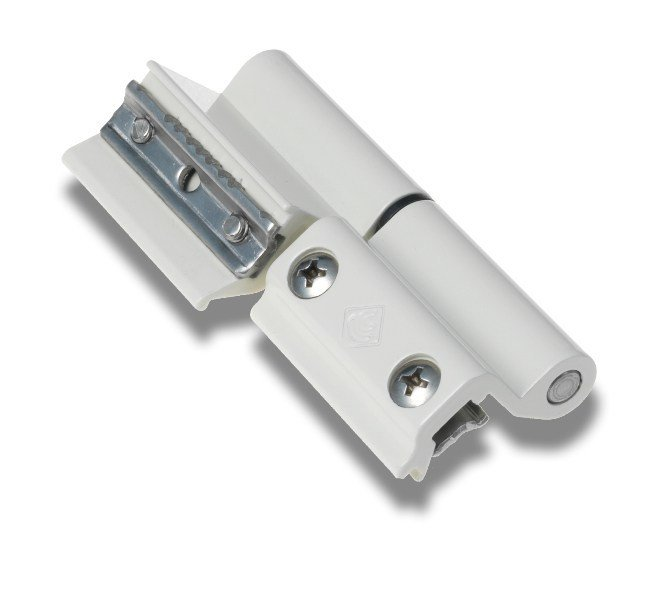 Extruded aluminium window hinge TOP RAPID by MASTER