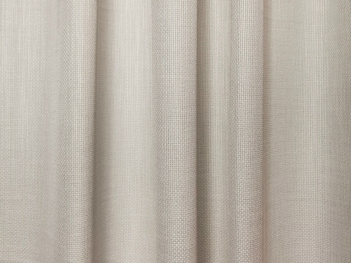 Solid-color polyester fabric for curtains OSLO by Equipo DRT