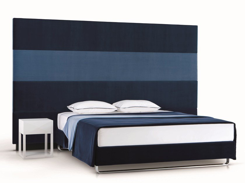 High upholstered headboard for double bed PLAY by Treca Interiors