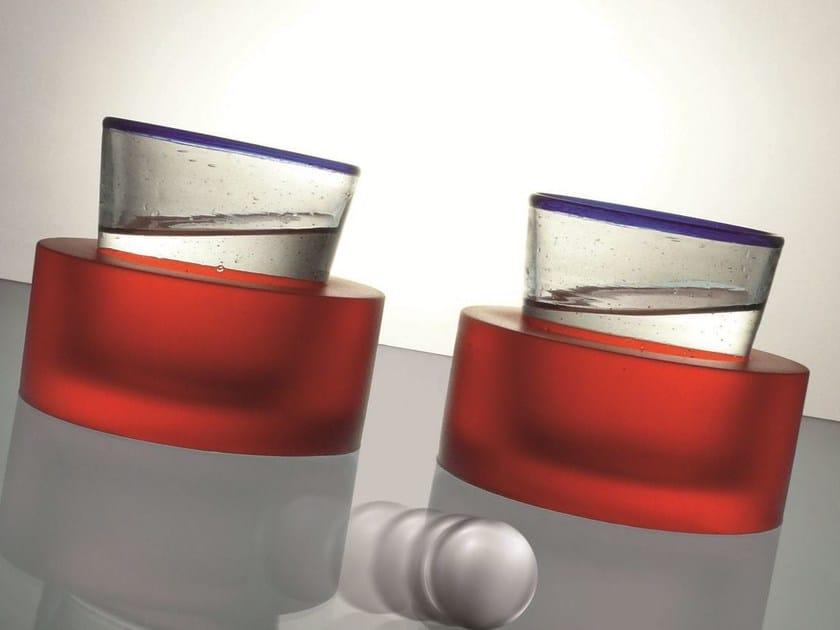 Polyurethane gel drink coaster PortaBI by Geelli by C.S.