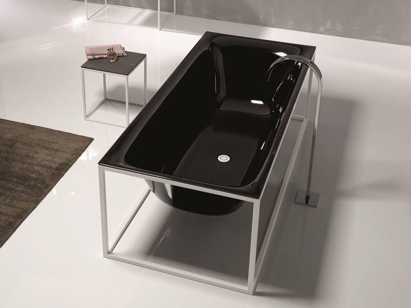 Freestanding enamelled steel bathtub BETTELUX SHAPE | Bathtub by Bette