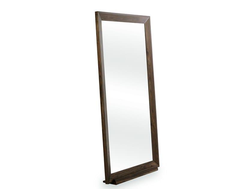 Freestanding rectangular framed mirror RITA by Treca Interiors