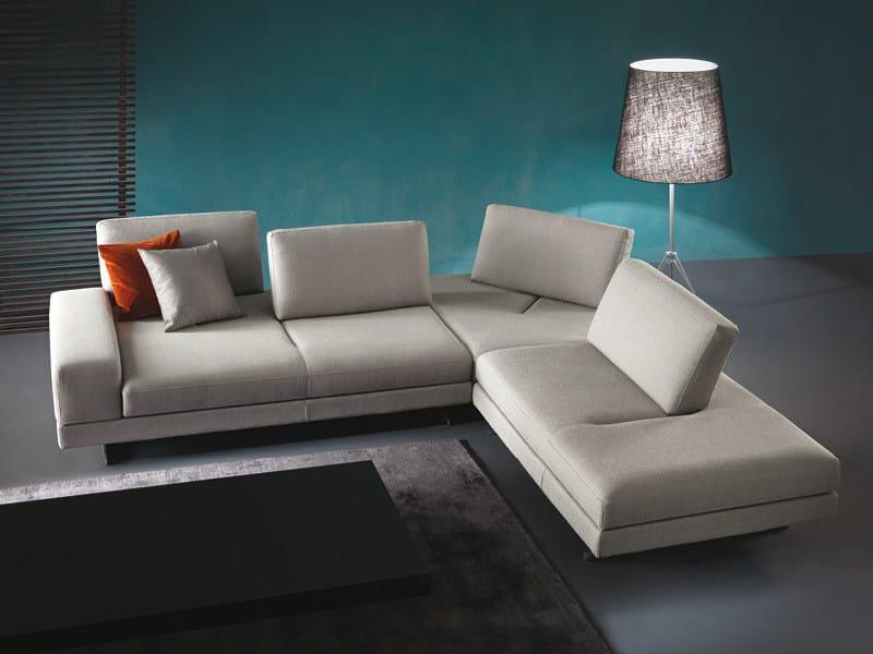 Corner convertible sofa MOVIE by Divanidea