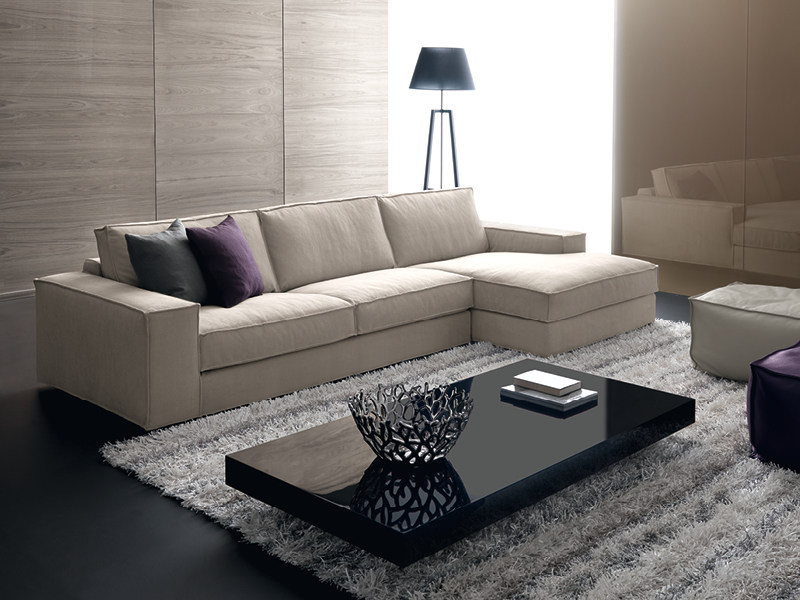 Sofa with chaise longue AVENUE | Sofa with chaise longue by Divanidea
