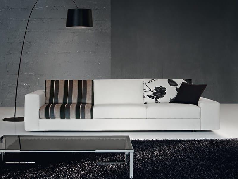 4 seater sofa CITY 2 by Divanidea