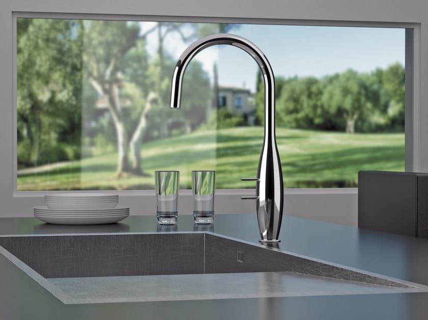 Kitchen mixer tap with swivel spout BK 72 | Kitchen mixer tap by Remer Rubinetterie