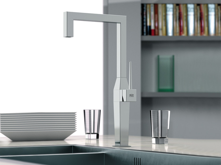 Kitchen mixer tap with swivel spout QK 72 | Kitchen mixer tap by Remer Rubinetterie