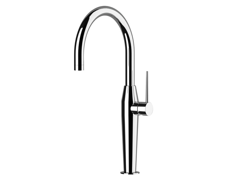 Kitchen mixer tap with swivel spout NK 72 | Kitchen mixer tap by Remer Rubinetterie