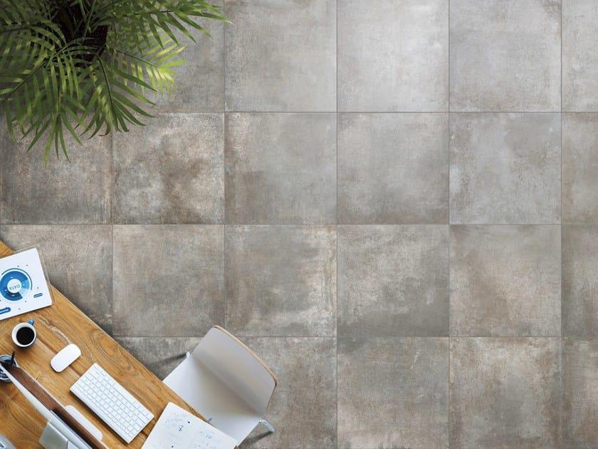 Anti-slip indoor/outdoor wall/floor tiles RUST by Ceramica Rondine