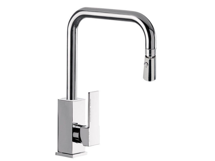 Kitchen mixer tap with swivel spout N 73 | Kitchen mixer tap by Remer Rubinetterie