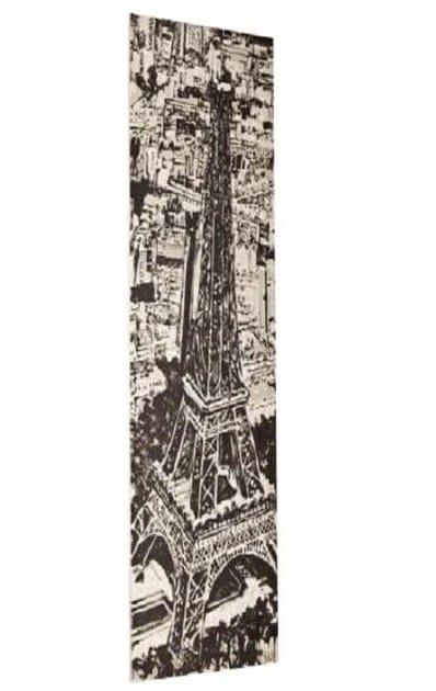 Low temperature vertical Olycale® decorative radiator PARIS MY LOVE by Cinier