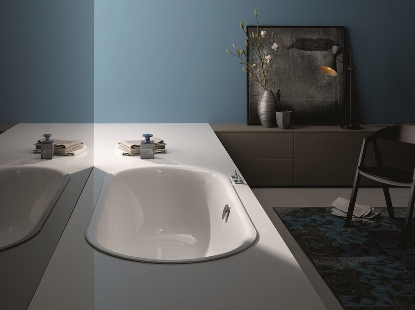 Baignoire ovale encastrable bettelux oval by bette design for Bette salle de bain