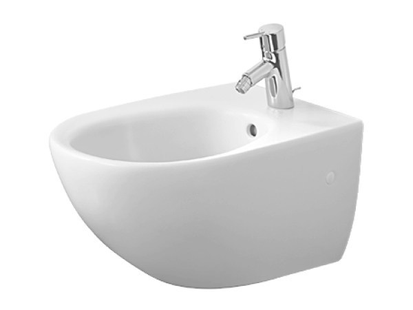 Wall-hung ceramic bidet ARCHITEC | Bidet by Duravit
