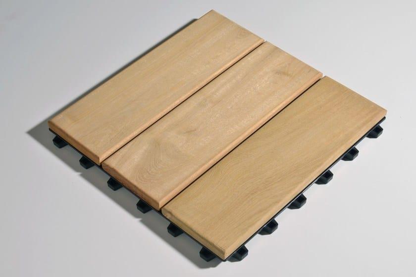 Wooden decking Larideck® Mono by BELLOTTI