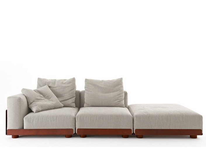 Sectional sofa ASAMI IRON by Colico