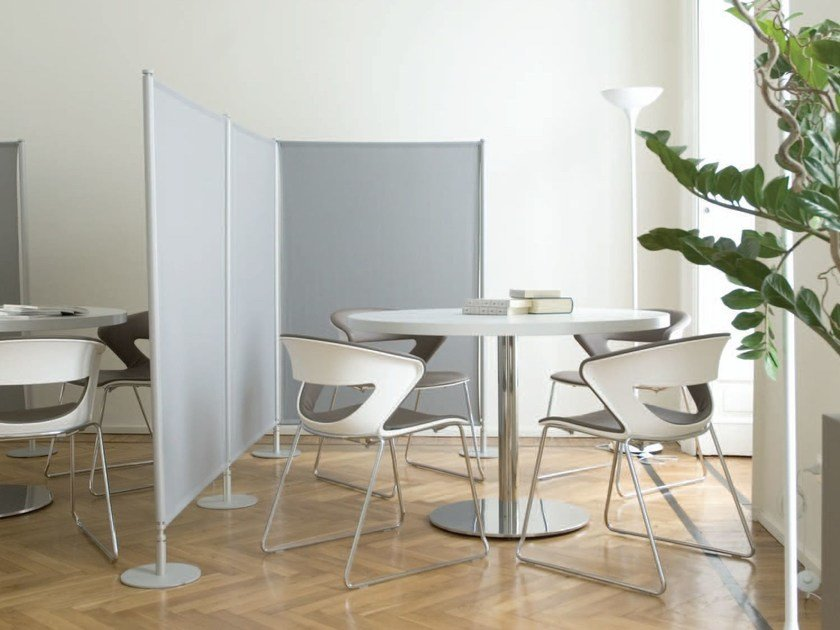 Painel divisor fono-absorvente modular 360° ACOUSTIC by Slalom