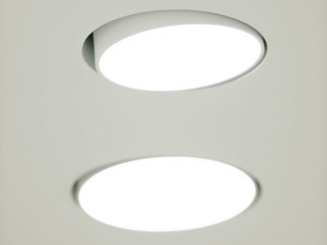 LED adjustable recessed ceiling lamp SUPERNOVA XS RECESSED 260 by Delta Light