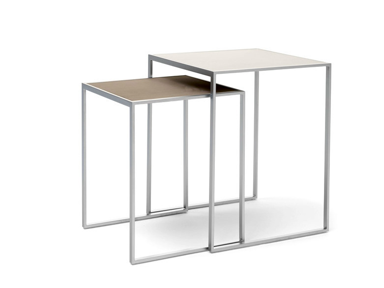Square side table MINIMIZE | Side table by YOMEI