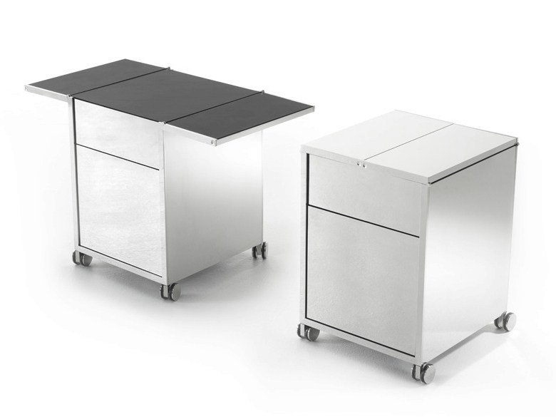Office drawer unit with casters FOLD by YOMEI