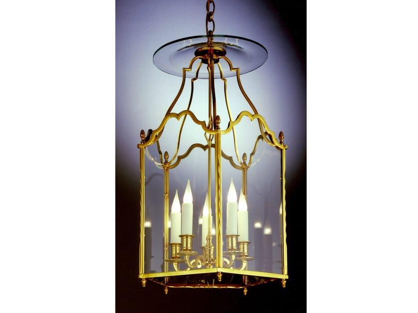 Bronze chandelier 30640 | Chandelier by Tisserant