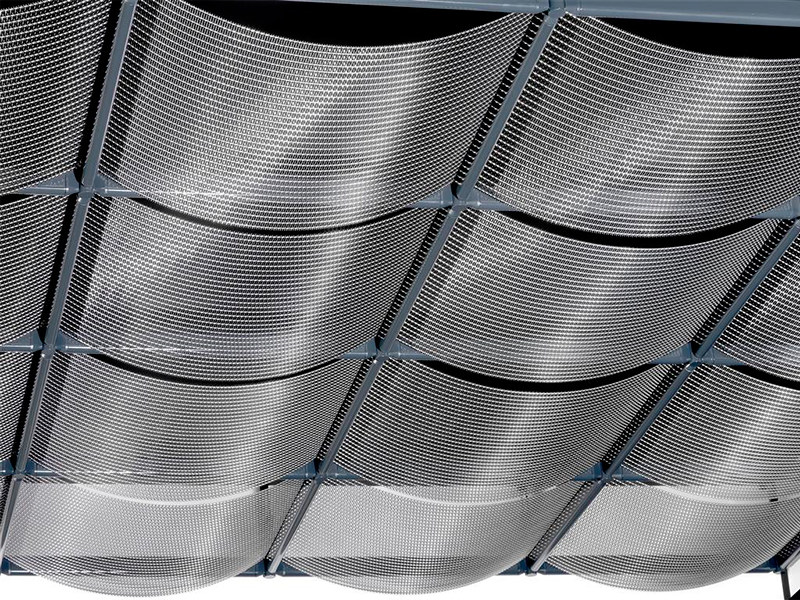 Ceiling tiles / Metal fabric and mesh KONVEX by HAVER & BOECKER OHG