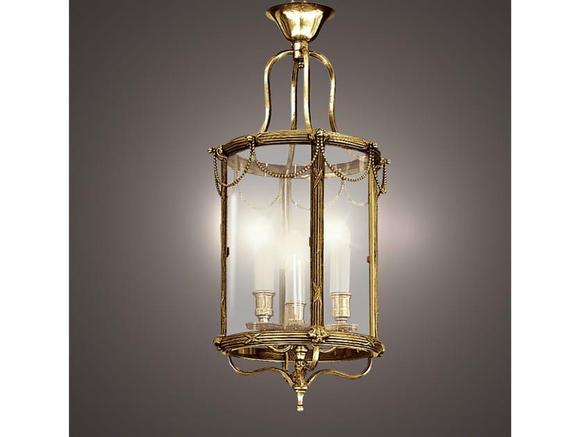 Bronze chandelier 30779 | Chandelier by Tisserant