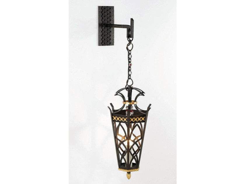 Bronze wall lamp 30799   Wall lamp by Tisserant