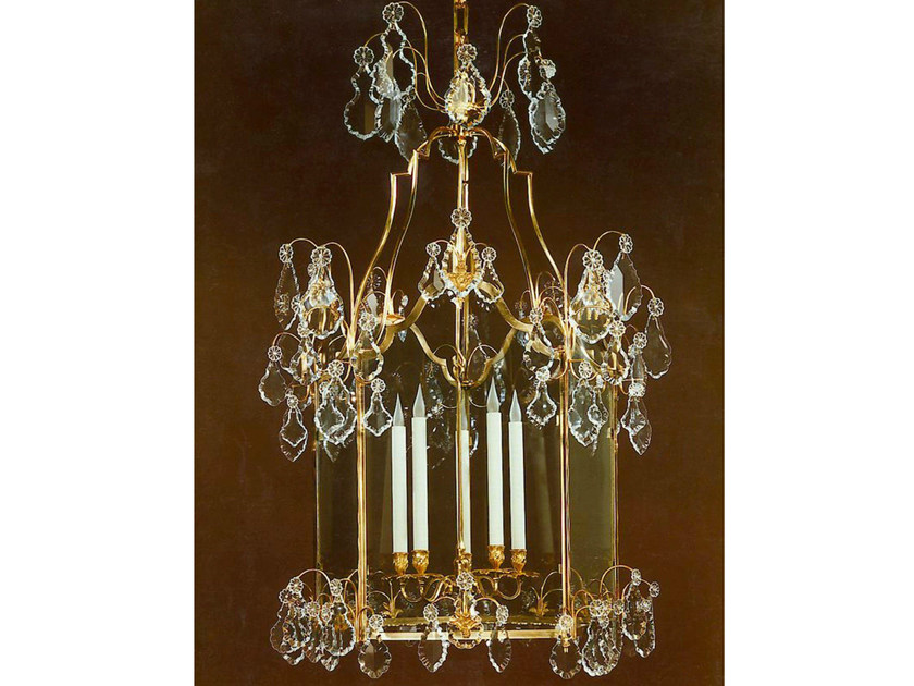 Crystal chandelier 30785 | Chandelier by Tisserant