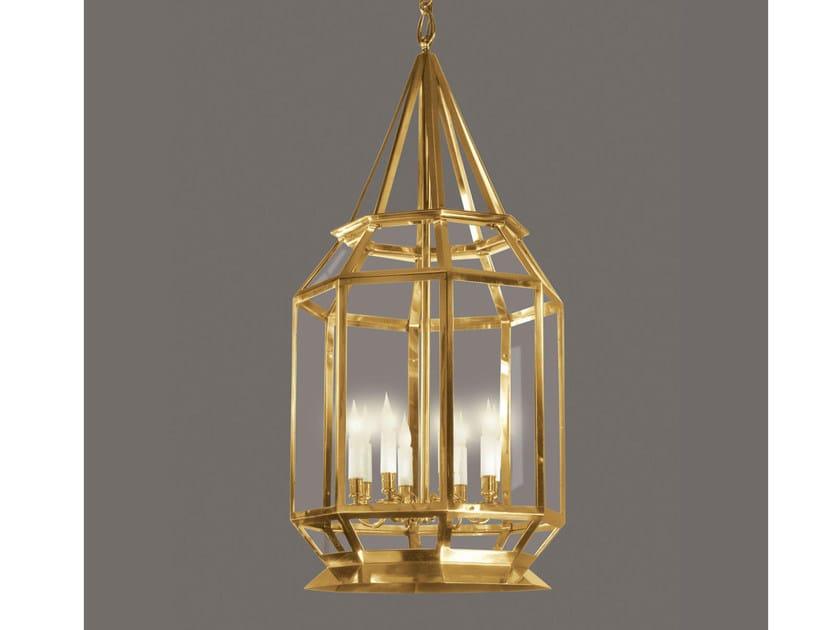 Bronze chandelier 30802 | Chandelier by Tisserant