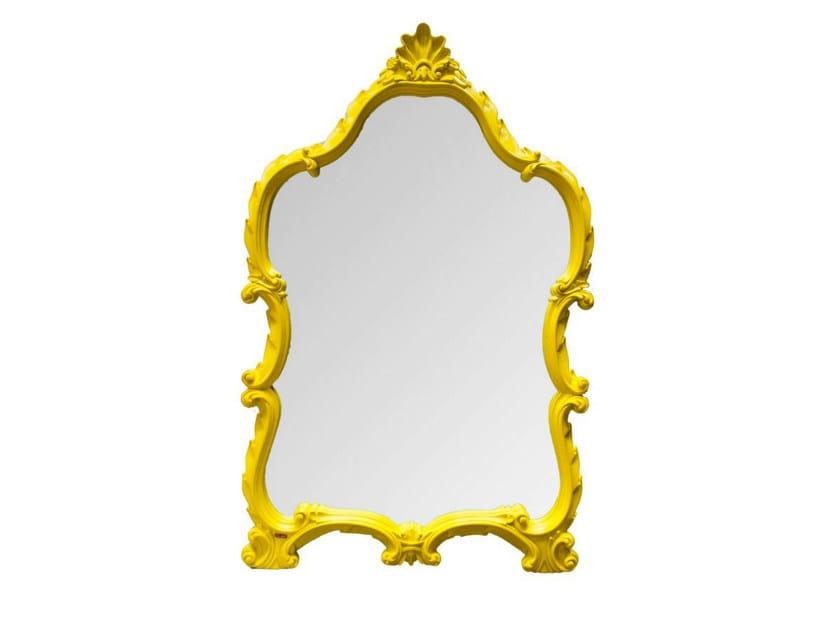 Wall-mounted framed mirror POLART | Mirror by POLaRT