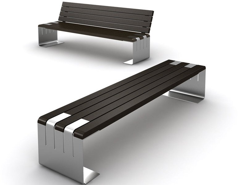 Wooden Bench INCONTRO by LAB23 Gibillero Design
