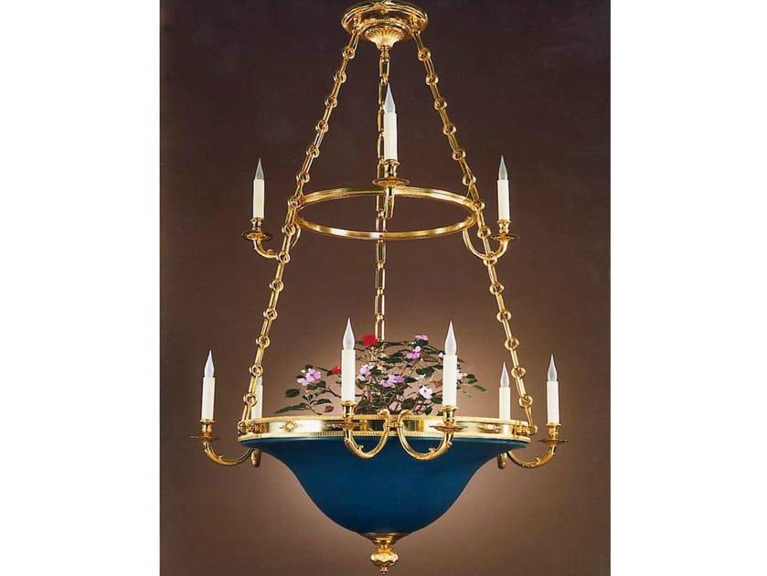 Bronze chandelier 30980 | Chandelier by Tisserant