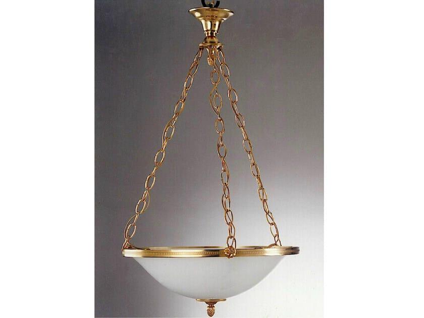 Bronze chandelier 30990 | Chandelier by Tisserant
